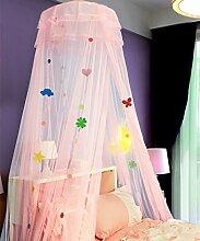 Wohnzimmer Vorhänge Vorhänge im Schlafzimmer Hängend Kuppel Moskitonetz Geöffnete Tür Prinzessin Landung Insektennetz Moskitonetzen Continental Vorhang Baumwollvorhänge ( Farbe : D , größe : 1.5M )