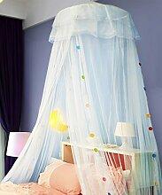 Wohnzimmer Vorhänge Vorhänge im Schlafzimmer Hängend Kuppel Moskitonetz Geöffnete Tür Prinzessin Landung Insektennetz Moskitonetzen Continental Vorhang Baumwollvorhänge ( Farbe : C , größe : 2M )