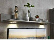 Wohnzimmer Wandboard mit LED-Beleuchtung in