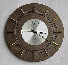 Wohnzimmer Wanduhr 14 Zoll Stille Bewegung Wohnzimmer Tisch Taschenuhr Radiowecker ( Farbe : #1 )