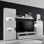 Wohnwand Weiß Hochglanz günstig online kaufen | LionsHome