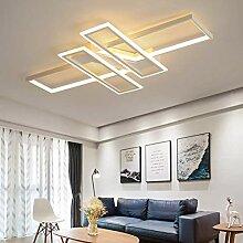 Wohnzimmerlampe Modern LED Decke Dimmbar Acryl