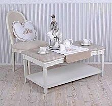 Wohnzimmertisch Landhausstil Weiss Tisch