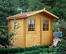 Wolff Finnhaus Holz-Gartenhaus Caroline 28mm -
