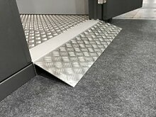 Wolff Finnhaus Metall-Gartenhaus Eleganto: Rampe