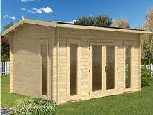 Wolff Finnhaus modernes Holz Holz-Gartenhaus