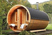 Wolff Finnhaus Saunafass de Luxe 400 Bausatz