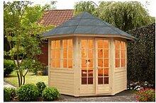WOLFF, Holzpavillon Palma, achteckig, achteckig,