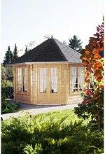 WOLFF, Holzpavillon Roma 4.0, achteckig,