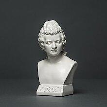 Wolfgang Amadeus Mozart Skulptur aus hochwertigem