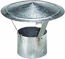 Wolfpack 22010067–Hut für Ofenrohr, verzinkt, 150mm