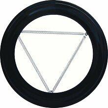 Wolfpack 22010900Abdeckrosette schwarz für Kaminofen 100mm