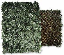 Wolfpack Rankgitter mit künstlichen Blättern,