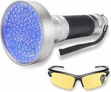 WOLFWILL LED Schwarzlicht Taschenlampe UV