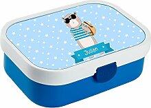 wolga-kreativ Brotdose Lunchbox Kinder Cooler Bär