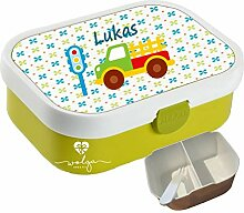 wolga-kreativ Brotdose Lunchbox Kinder Laswagen
