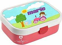 wolga-kreativ Brotdose Lunchbox Kinder Mädchen