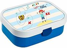 wolga-kreativ Brotdose Lunchbox Kinder Pirat Junge