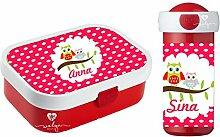 wolga-kreativ Brotdose Obsteinsatz Bento Box und