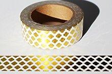 wolga-kreativ Washi Tape Gold Muster Masking