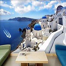Wolipos 3D Tapete Wandbild Griechenland