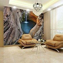 Wolipos 3D Tapete Wandbild Große Höhle