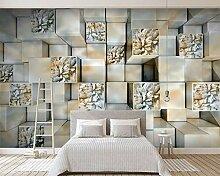 Wolipos 3D Tapete Wandbild Marmor Erleichterung