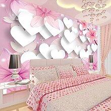 Wolipos 3D Tapete Wandbild Mode Romantische Liebe