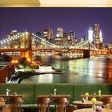 Wolipos 3D Tapete Wandbild Moderne Stadt