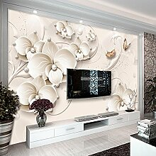 Wolipos 3D Tapete Wandbild Relief-Malerei-Moderner