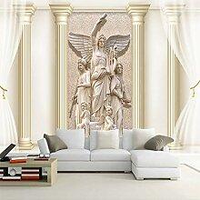 Wolipos 3D Tapete Wandbild Römische