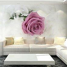 Wolipos 3D Tapete Wandbild Romantische Blumen