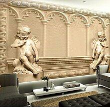 Wolipos 3D Tapete Wandbild Stereoskopischer Engel