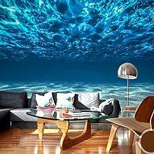 Wolipos 3D Tapete Wandbild Tiefseelandschaft Groß