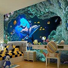 Wolipos 3D Tapete Wandbild Unterwassermalerei