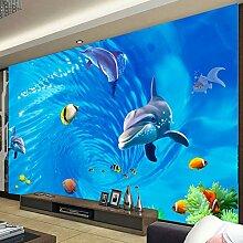 Wolipos 3D Tapete Wandbild Wirbel Ozean Welt