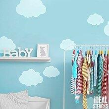 Wolke Form Schablone | Kinderzimmer Heim Wand