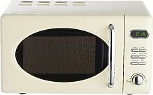 Wolkenstein Retro-Mikrowelle, Creme glänzend, 5