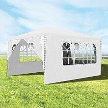 wolketon 3x4m Gartenpavillon Stabiles Hochwertiges