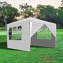 wolketon Pavillon 3x3m Wasserdicht Gartenpavillon