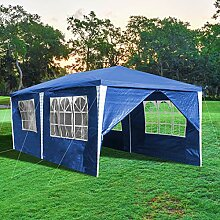 wolketon Pavillon 3x6m Wasserdicht und UV-Schutz