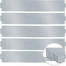 wolketon Rasenkante 20m 100x18cm Metall