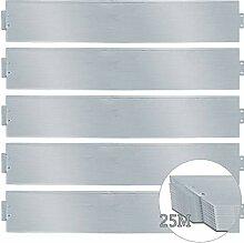 wolketon Rasenkante 25m 100x18cm Metall