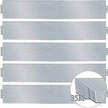 wolketon Rasenkante 35m 100x18cm Metall