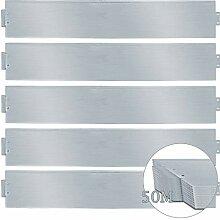 wolketon Rasenkante 50m 100x18cm Metall