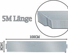 wolketon Rasenkante 5m 100x14cm Metall