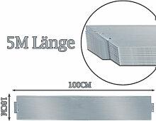wolketon Rasenkante 5m 100x18cm Metall