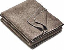 Wolldecke aus Reiner Schurwolle 100% Merinowolle