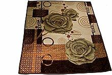 Wolldecke Bettina Orientalische Pflanze für 2 Personen ON-2 Polyester Wohndecke Kuscheldecke Decke