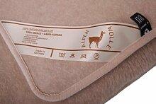 Wolldecke Lama Alpaca 20% Alpaca Wolle 80% Merino